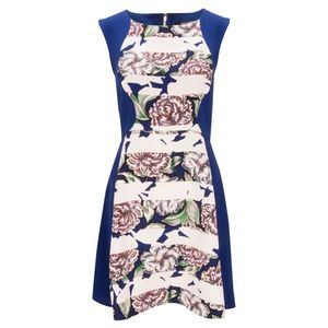 French Connection | Bonita Floral Skater Dress